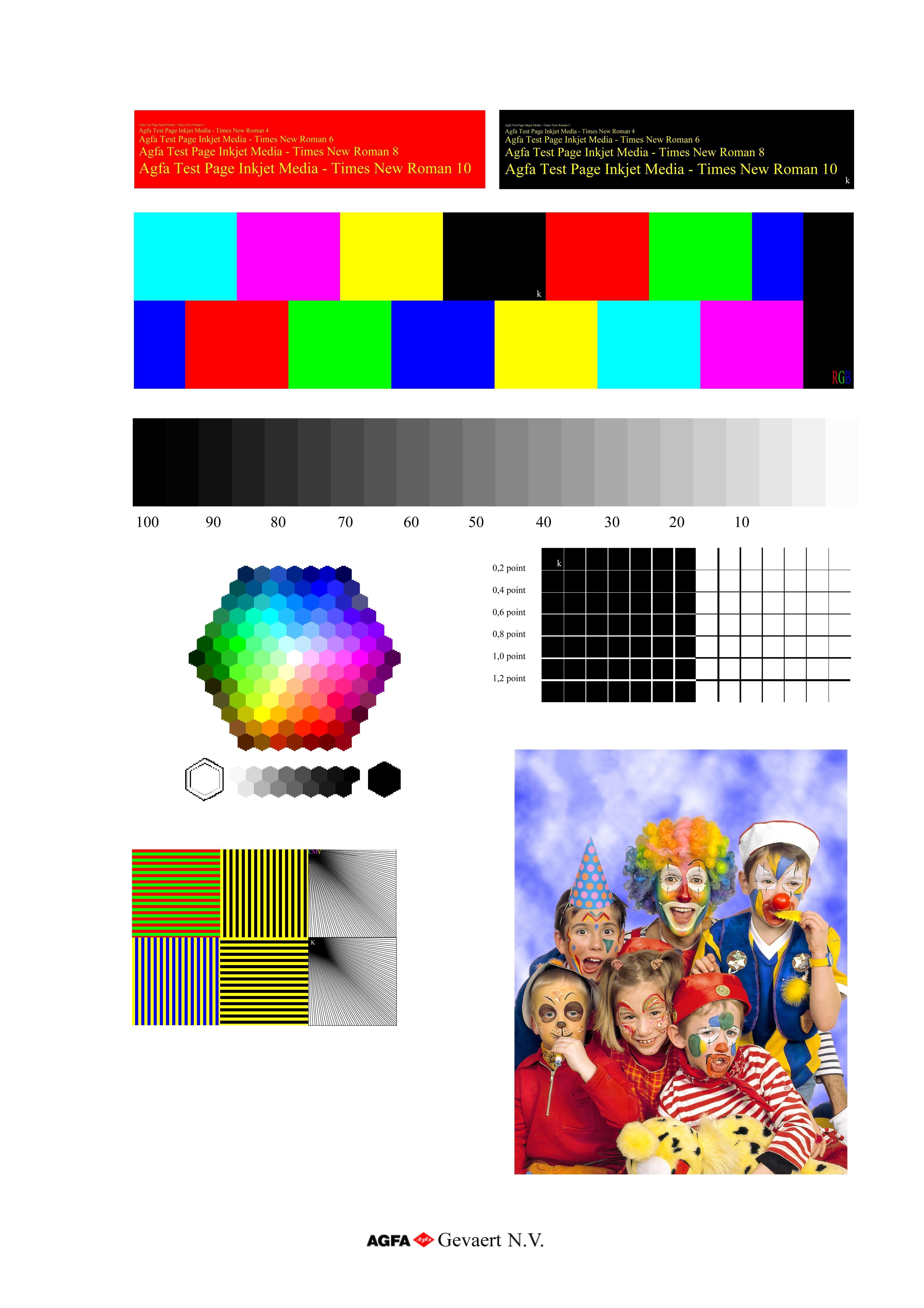 Printer color test page print 5aba51987463e and