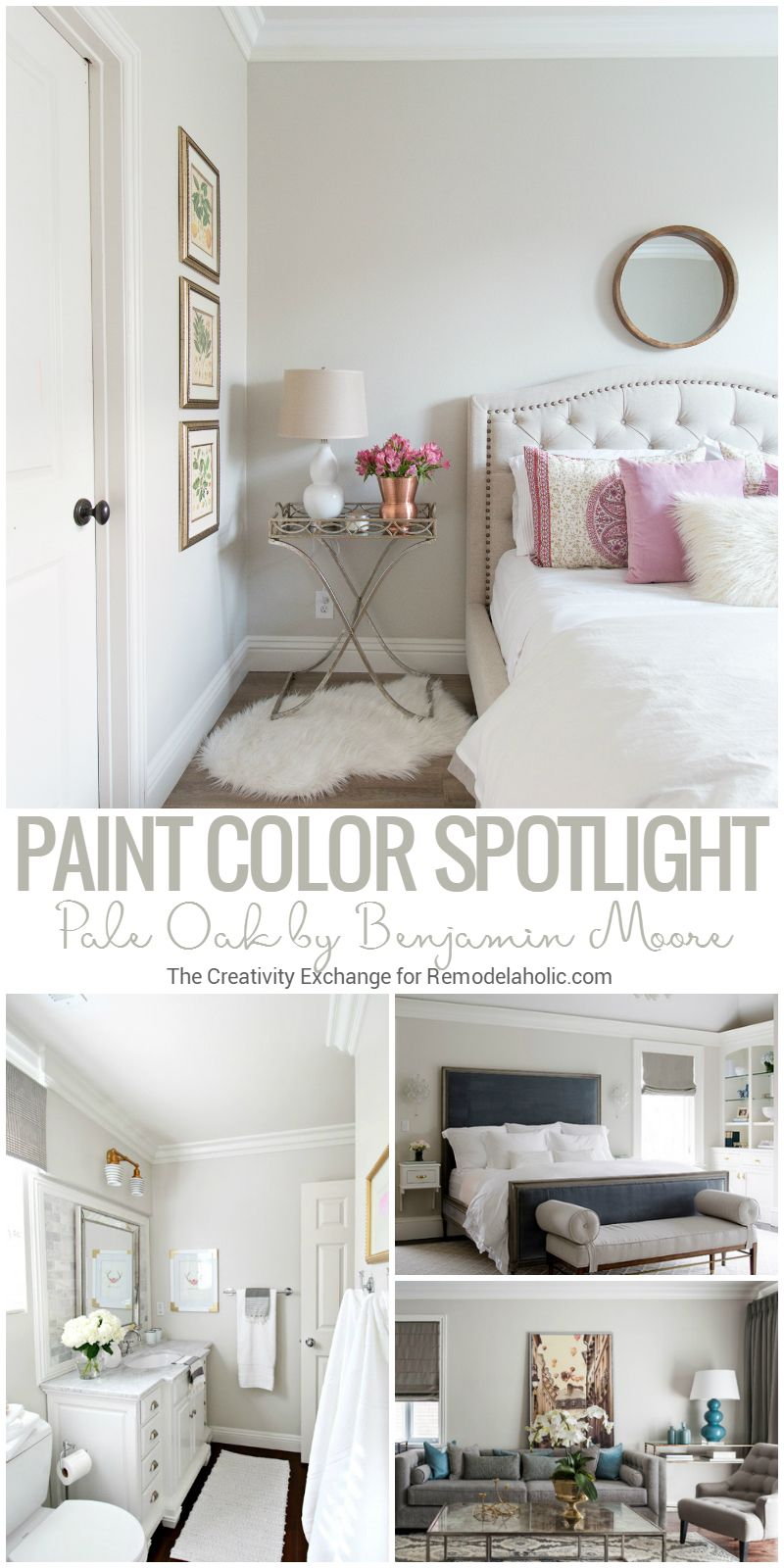Pale Oak By Benjamin Moore Is A Balanced And Versatile Warm Neutral Griege Gray