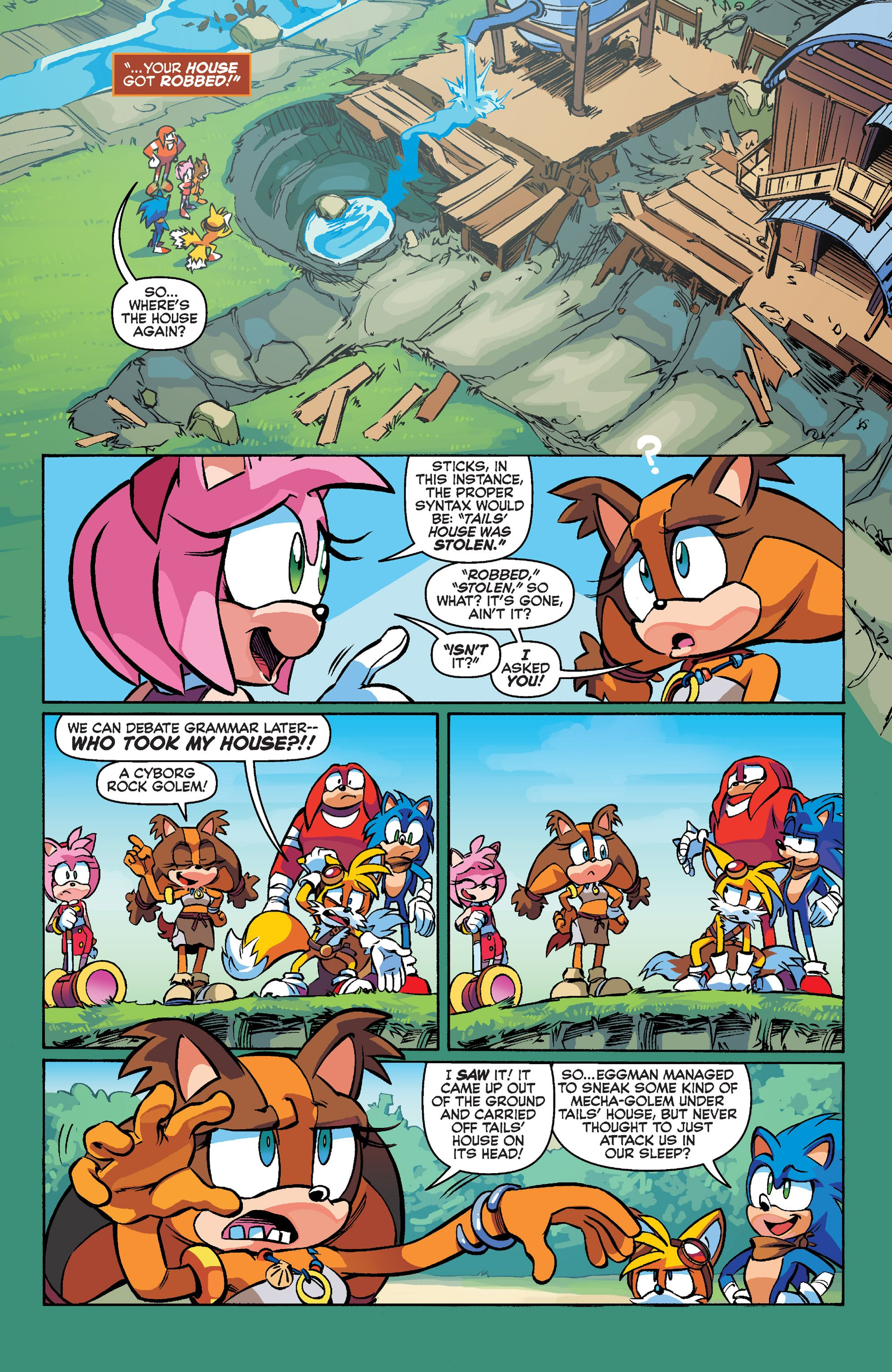 Sonic Boom Issue 1 Read Sonic Boom Issue 1 Comic Online In High Quality Comics Sonic Sonic Boom