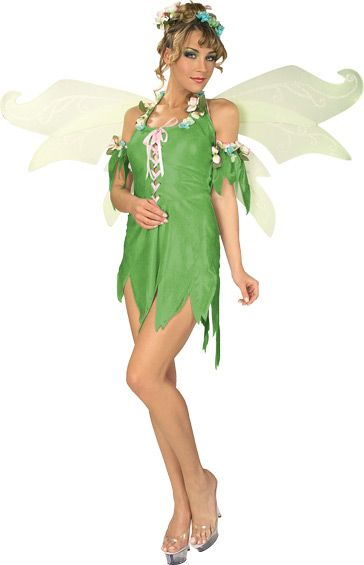 Adult Green Fairy Costume - Candy Apple Costumes - Sale  Clearance - green dress halloween costume ideas