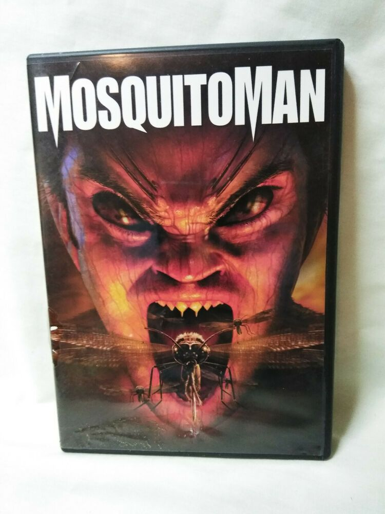 Mosquitoman Dvd 2005 Rare Out Of Print Disc Is In Perfect Condition Firstlook Dvds For Sale Dvd Rare