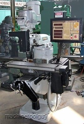 Details about 4 Hp Lagun 3-Axis CNC Vertical Knee mill
