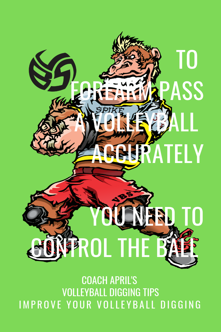 Forearm Pass A Volleyball Better With This Ball Control Passing Guide With Images Volleyball Coaching Volleyball Volleyball Skills
