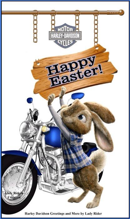 Happy Easter | Easter | Pinterest | Happy easter, Easter and Harley