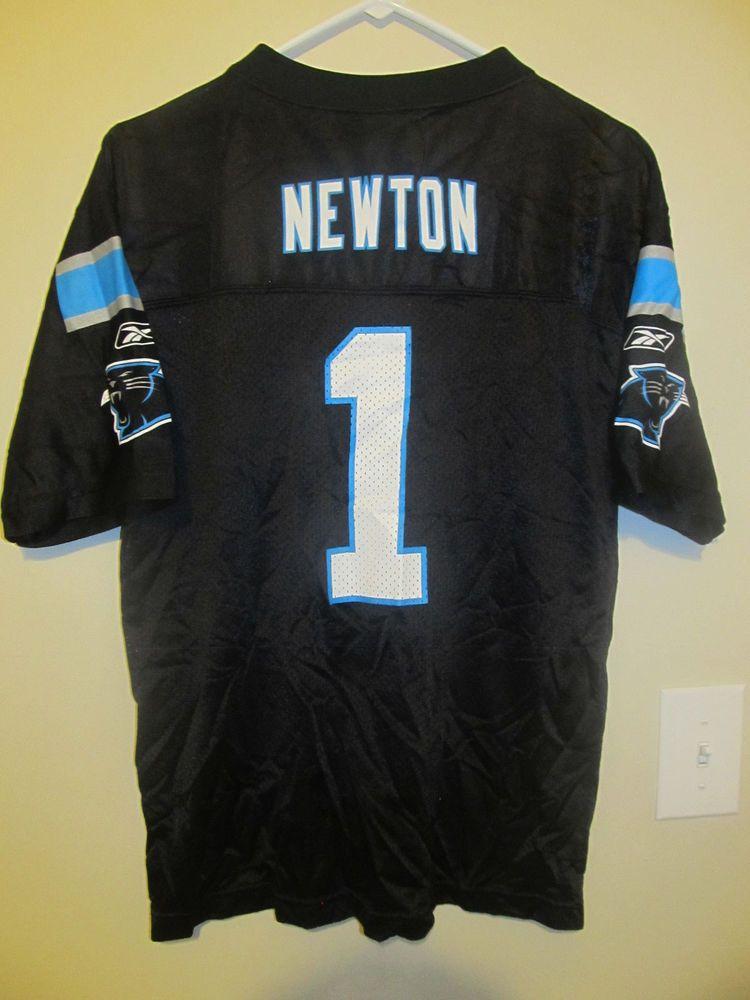 Cam Newton Carolina Panthers Jersey Reebok Youth XL #Reebok  free shipping