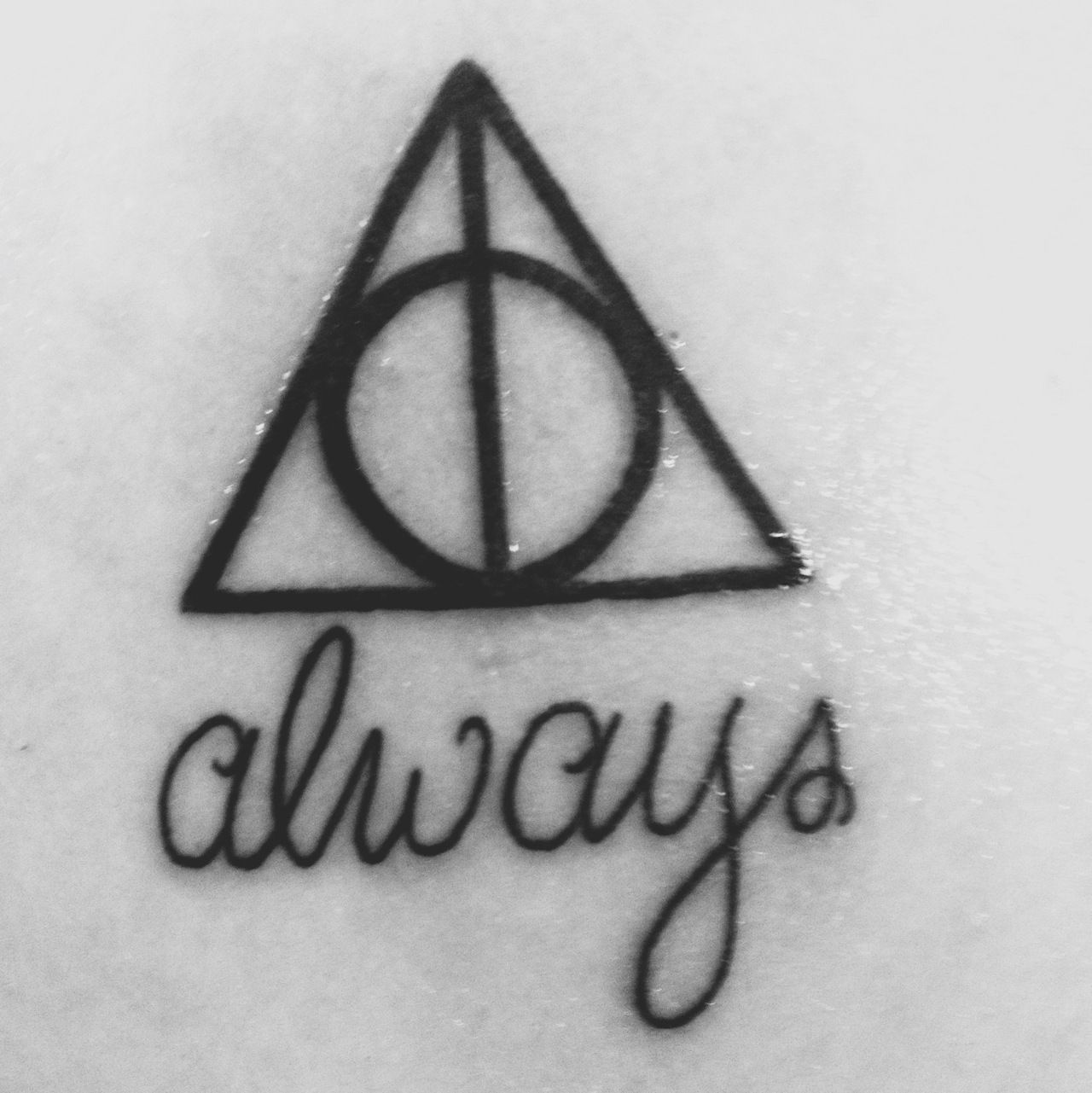 Word triangle symbol images symbol and sign ideas like how the word is under the deathly hallows symbol tattoo like how the word is biocorpaavc