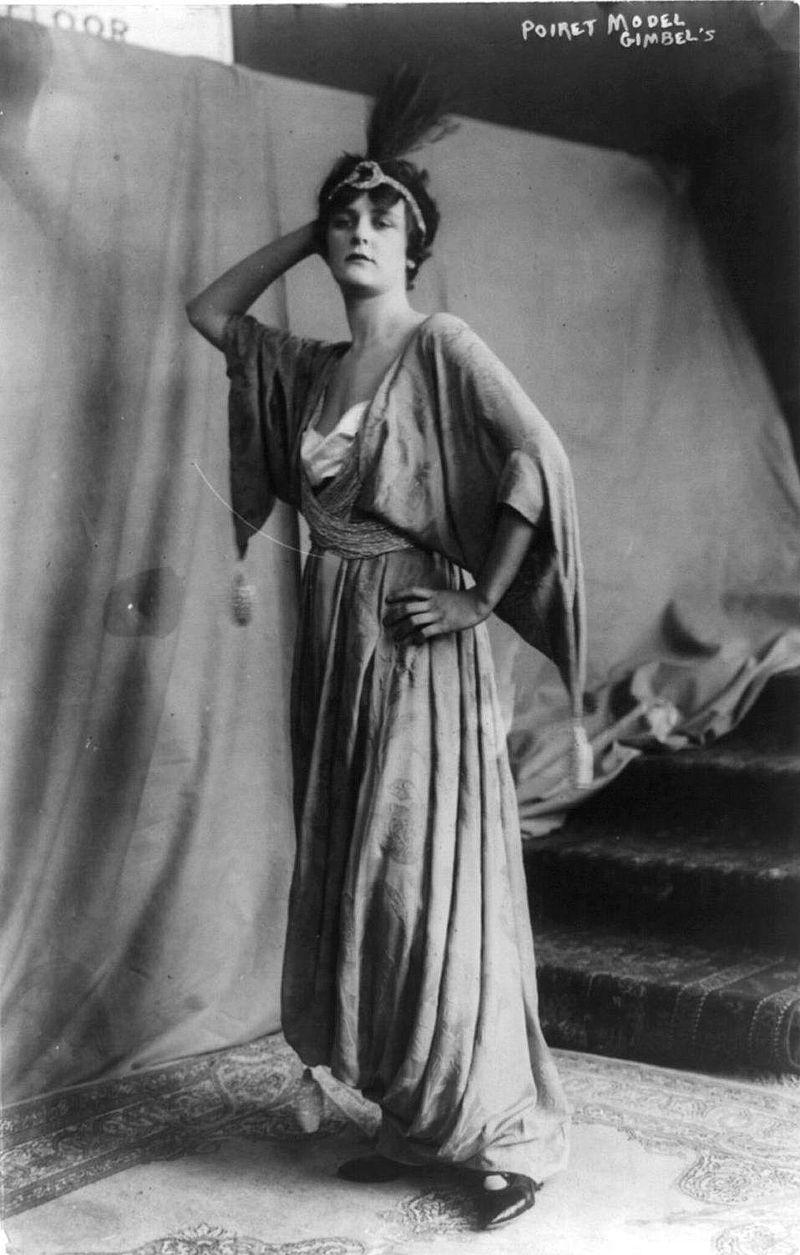 Poiretdress History Of Fashion Design Wikipedia The Free Encyclopedia Paul Poiret Fashion History Belle Epoque