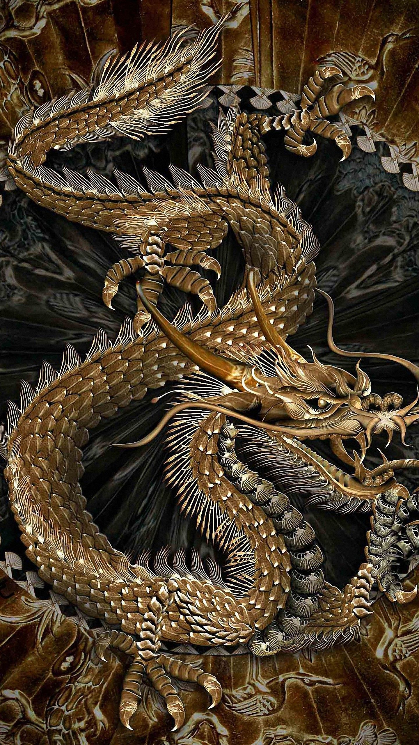 1440x2560 Wallpaper Hd Mywallpapers Site In 2020 Dragon Pictures Japanese Dragon Dragon Artwork