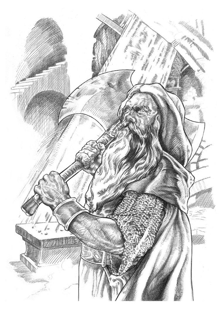 Gimli By Nachocastro Tolkien Lord Of The Rings The Hobbit E Art