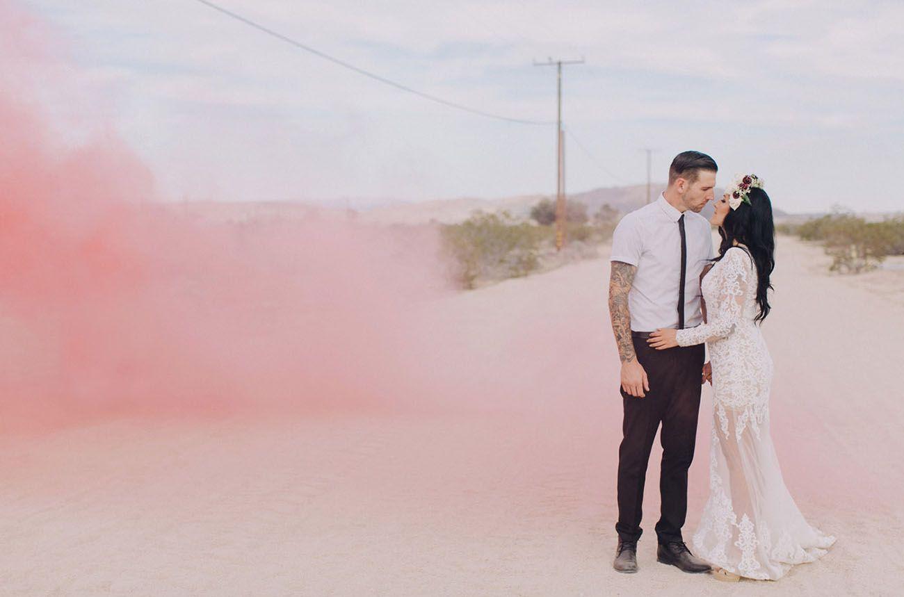 Destination Wedding in Joshua Tree: Anna + Michael   Boda