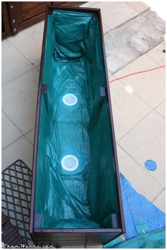 tutoriel bac en bois pour fleurs bambous jardin. Black Bedroom Furniture Sets. Home Design Ideas