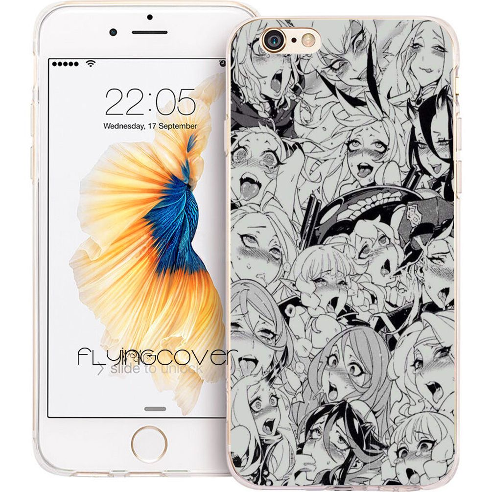 Buy Coque Sexy Ahegao Girls Clear Soft Tpu Silicone Phone Cover For Baseus Simple Case Anti Shock Iphone 7 47 X 8