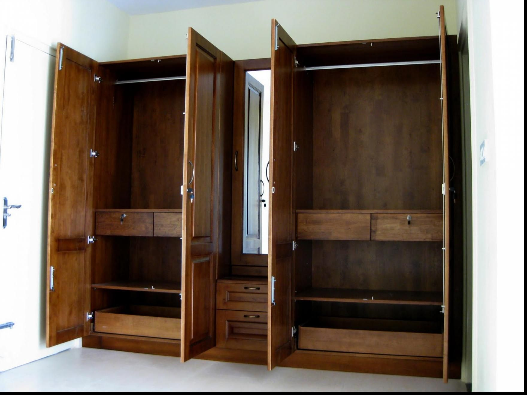 Dressing Table With Mirror And Wardrobe Armoire For Sale Built