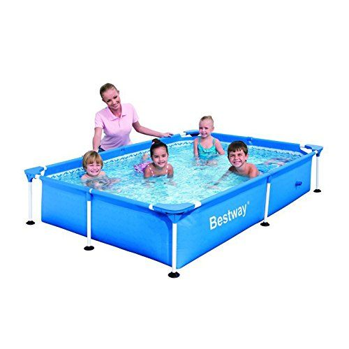 "Bestway 56041 Frame Pool Stahlrahmenbecken""Splash Jr"