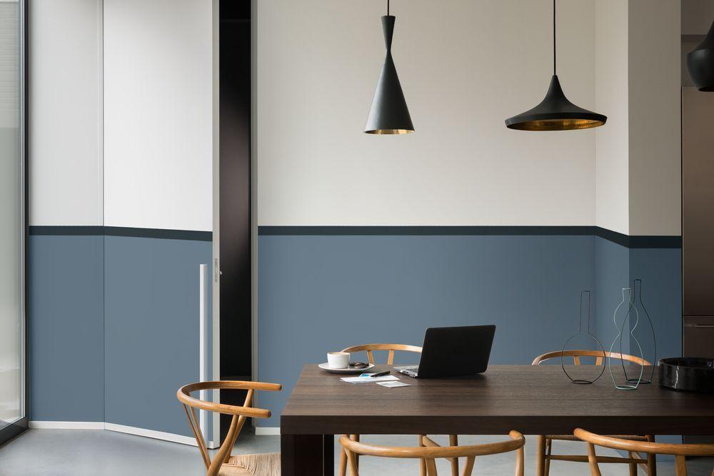 The working home van eetkamer tot werkplek kleur van het jaar