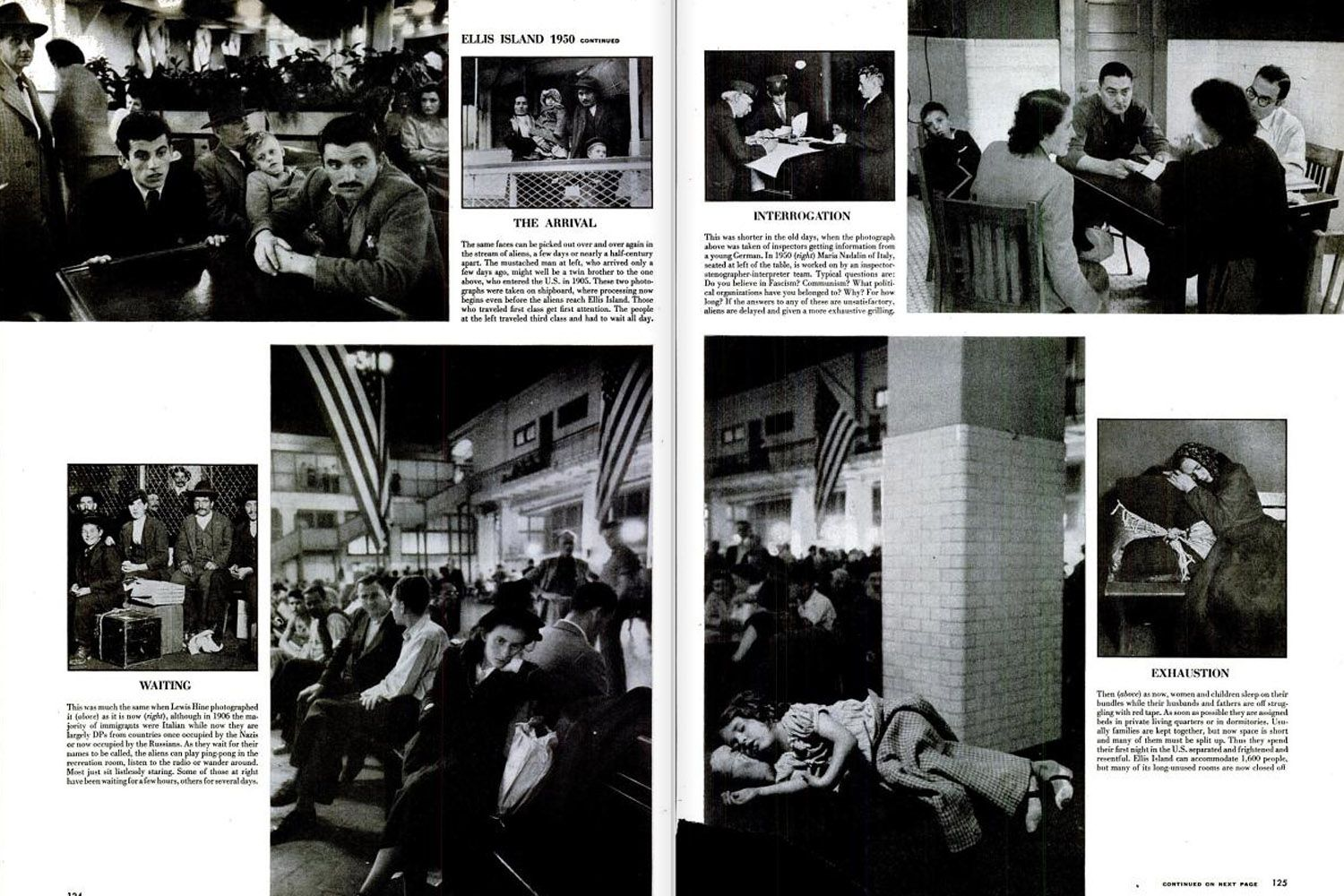 """""""Life article about Ellis Island, c1950"""" @ellyserylee another thing with your name!"""