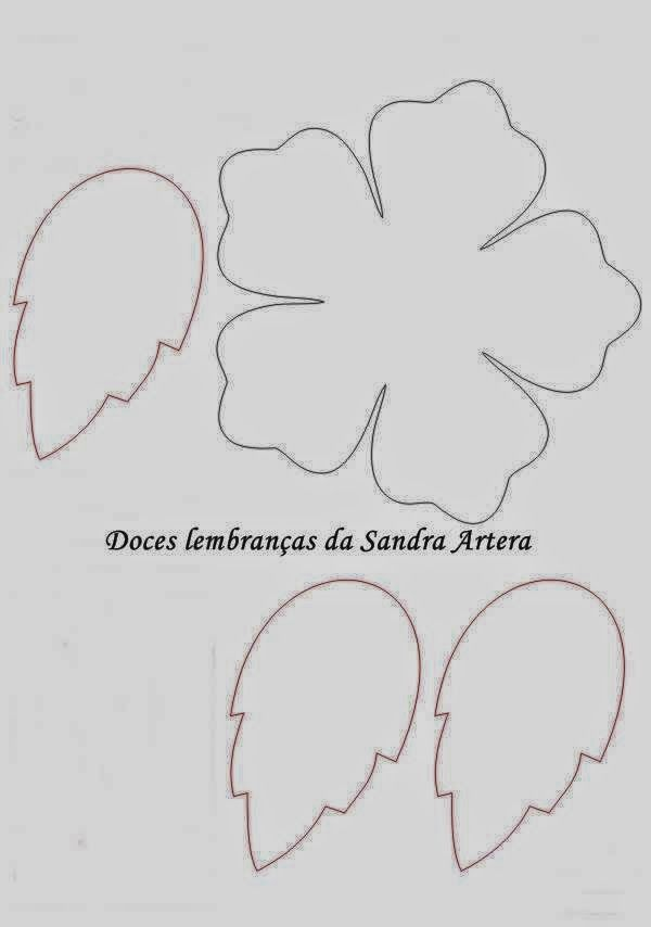 Molde Porta Bombom De Eva Flor Sarafeltro Pinterest