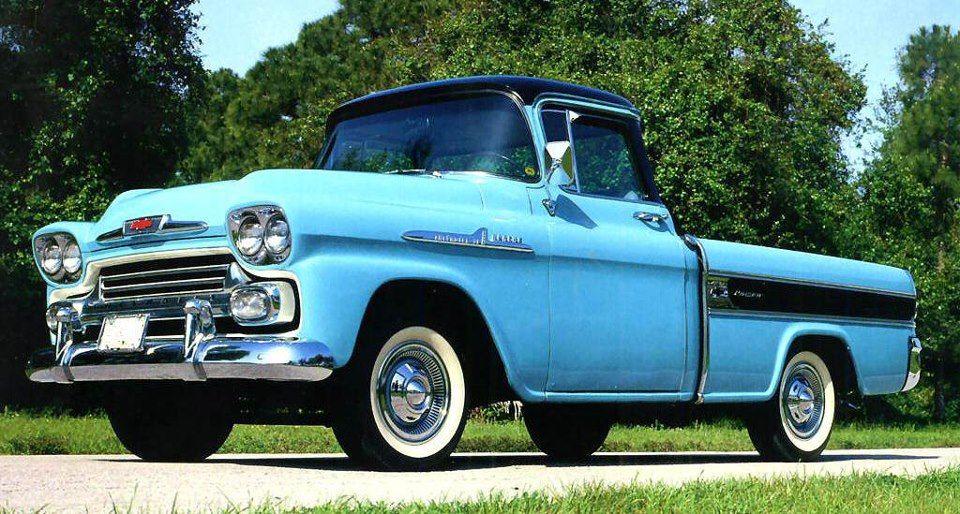 1958 Chevrolet Apache Cameo 1958 Chevy Truck Chevy Trucks Classic Chevy Trucks