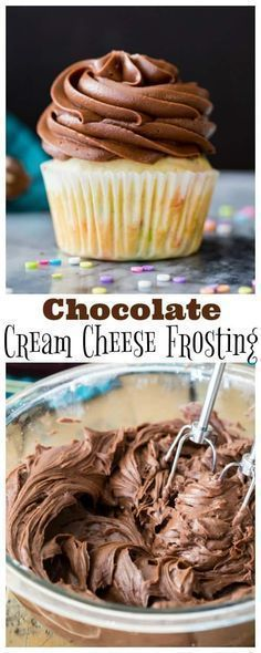 make Chocolate Cream Cheese Frosting! Smooth creamy, and perfect for piping, this is always a hit! via @sugarspunrun How to make Chocolate Cream Cheese Frosting! Smooth creamy, and perfect for piping, this is always a hit! via @sugarspunrun
