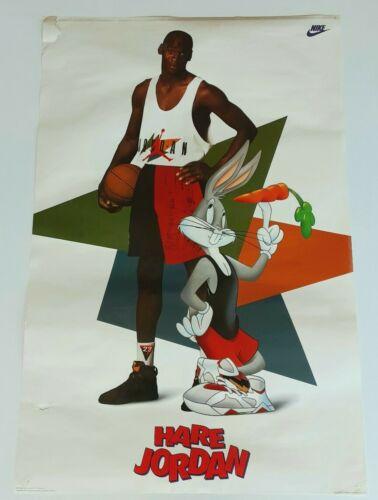Vintage Michael Jordan Hare Jordan 1992 Nike Poster Ebay In 2020 Nike Poster Michael Jordan Trinidad And Tobago