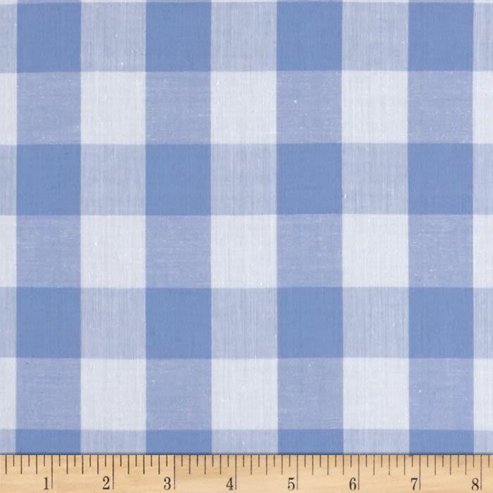 Richcheck 60 Gingham Check 1 Blue 3 72 Yd Gingham Tablecloth