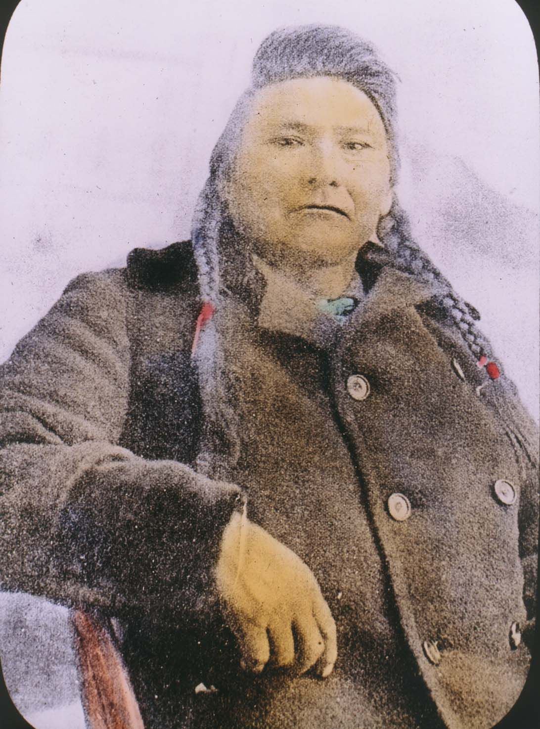 Chief joseph Rare image i share information with a librarian in washington about native american special the Nez Perce and he told me this picture was make 3 months before he died and this is the only and first in collard picture from him