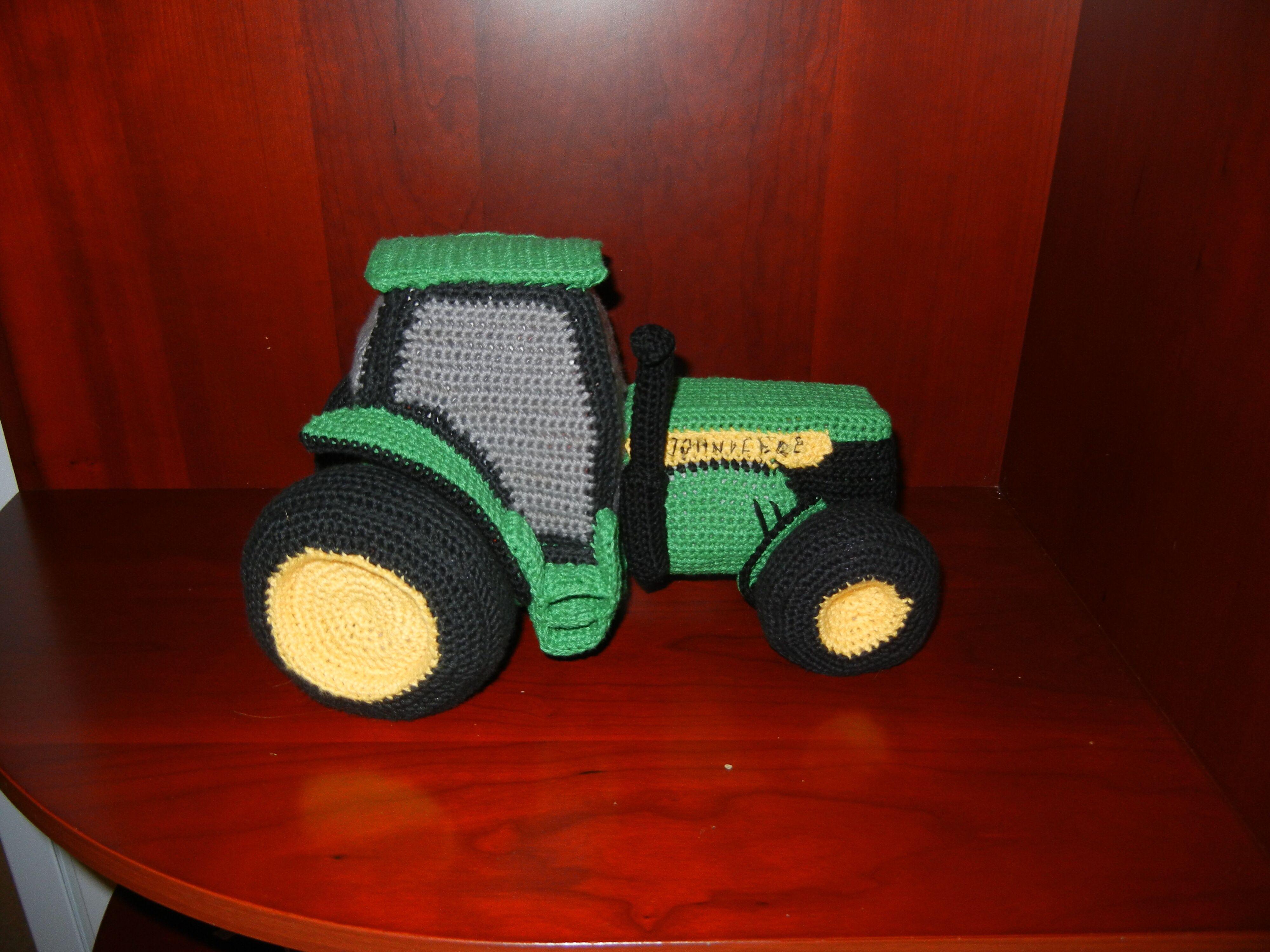 Hæklet traktor