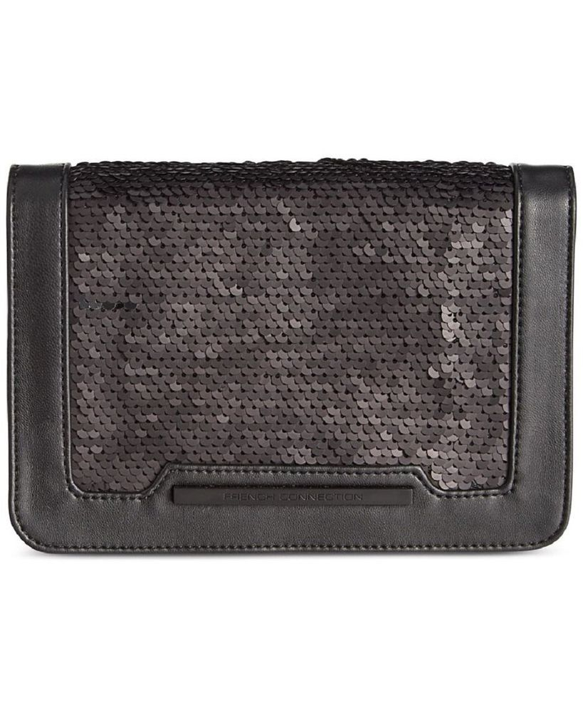 VIDA Leather Statement Clutch - Eyes That Pierce The Soul by VIDA VFb3816W3h