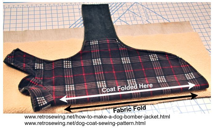 how to make a dog bomber Jacket Free downloadable dog coat sewing ...
