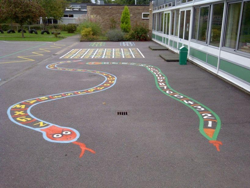 painted playground games | ... » Playground Markings ...