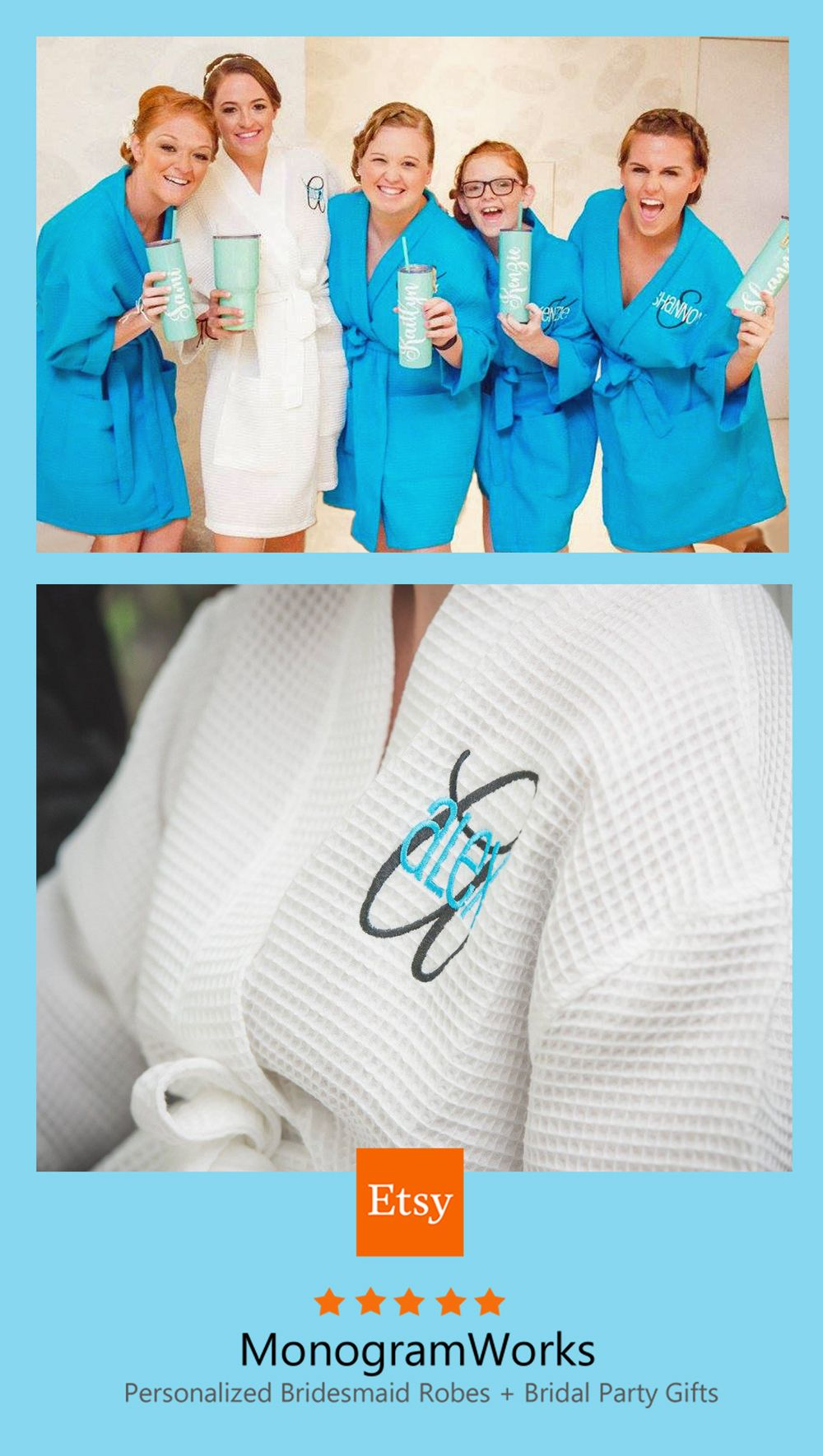 Famous Bride Bridesmaid Dressing Gowns Collection - All Wedding ...