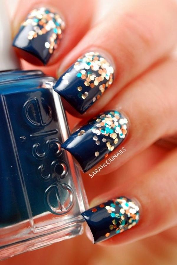 45 Cute New Year Eve Nail Designs and ideas | Pinterest | Beauty ...