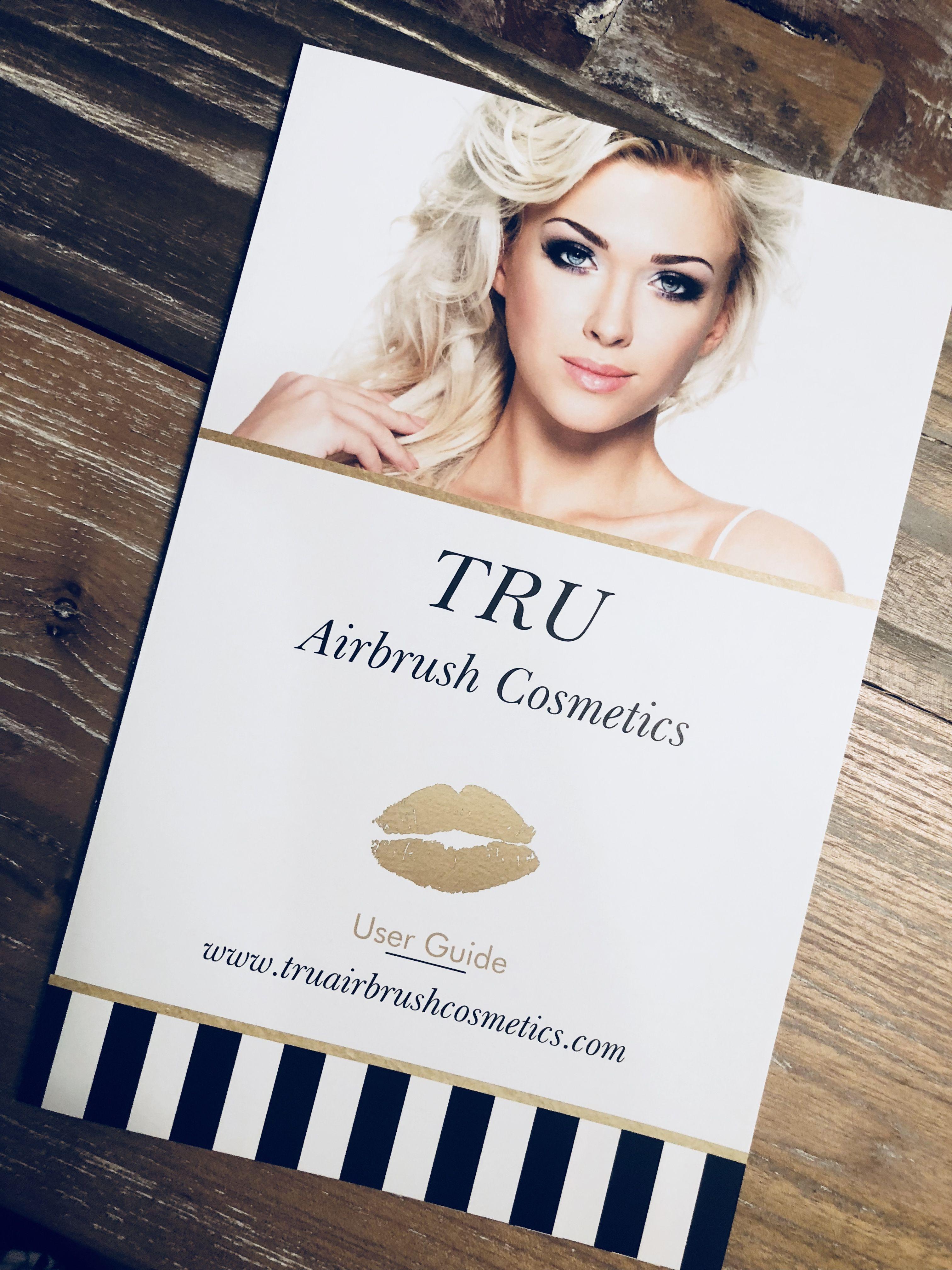 TRU Airbrush Cosmetics! Airbrush makeup, Airbrush