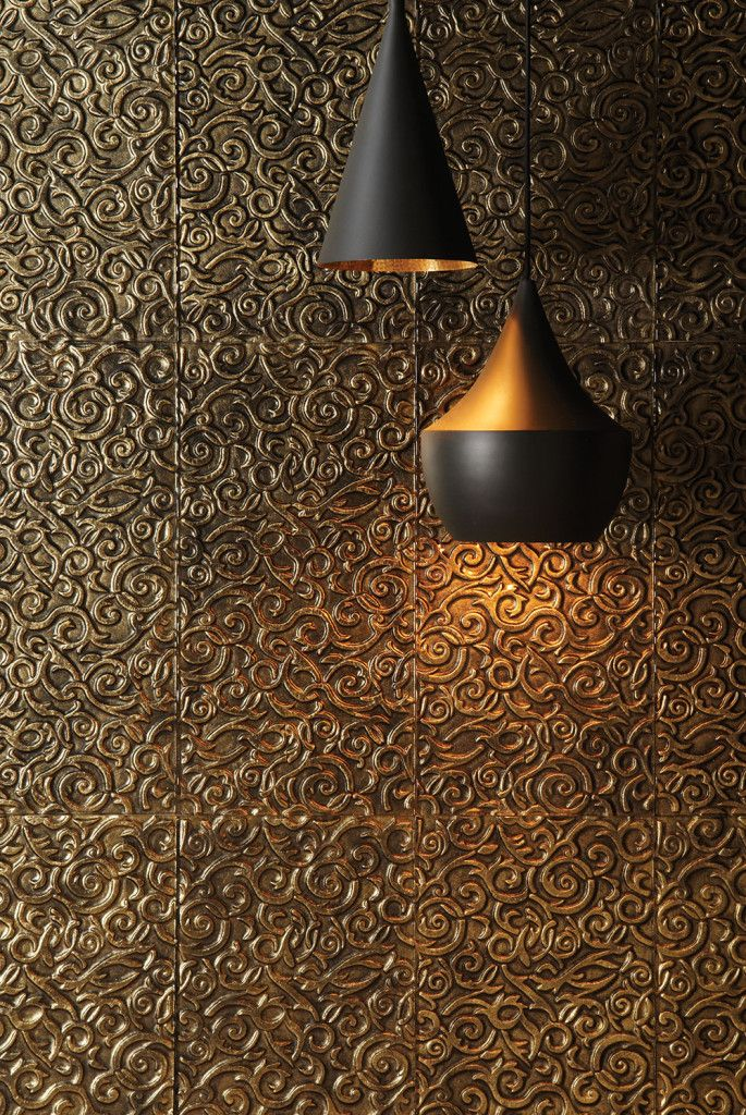 Metallic Glass Wall Tile Available Exclusively