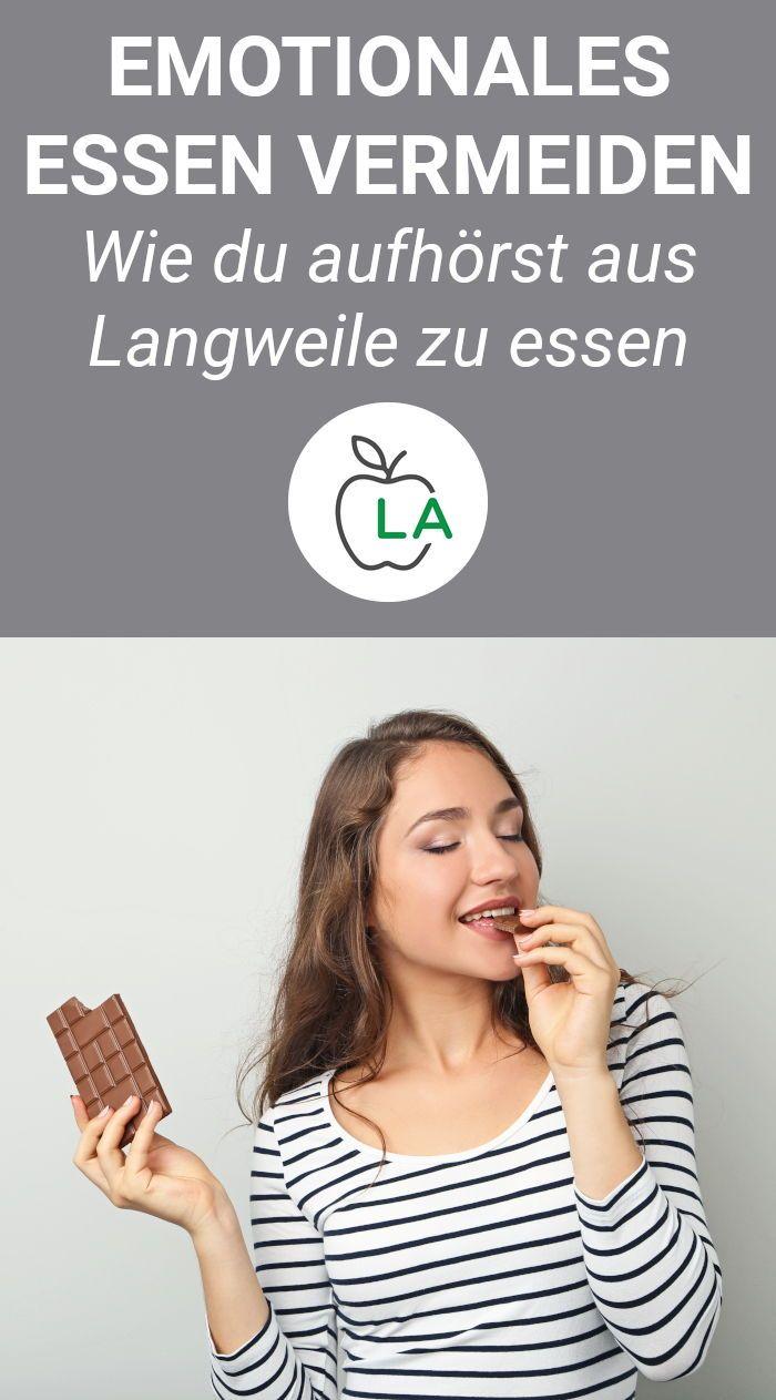 Essen aus Langweile vermeiden - Angewohnheit loswerden und dadurch abnehmen
