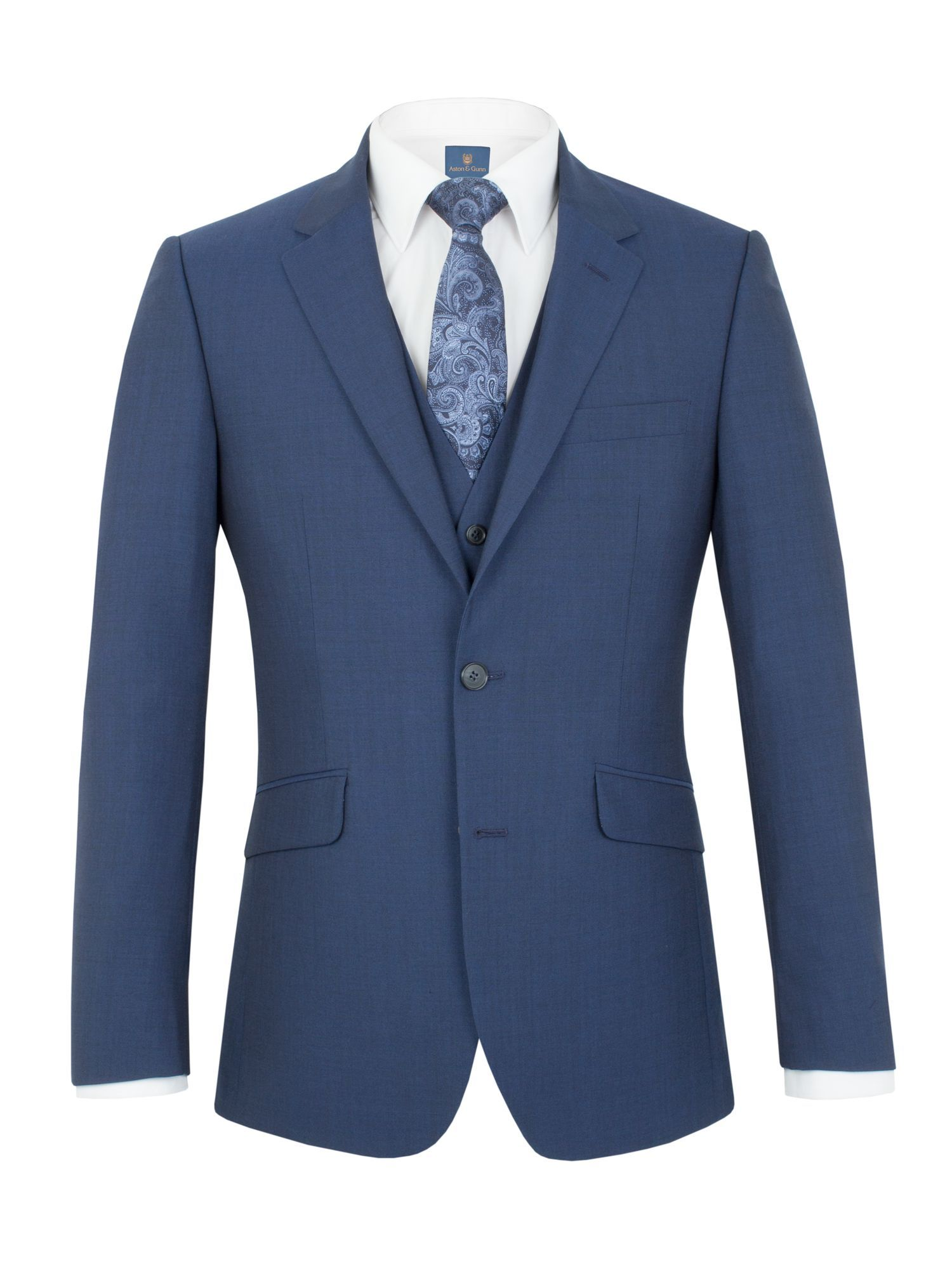 1a7f094d7 Buy: Men's Aston & Gunn Harewood tailored jacket, Blue for just ...