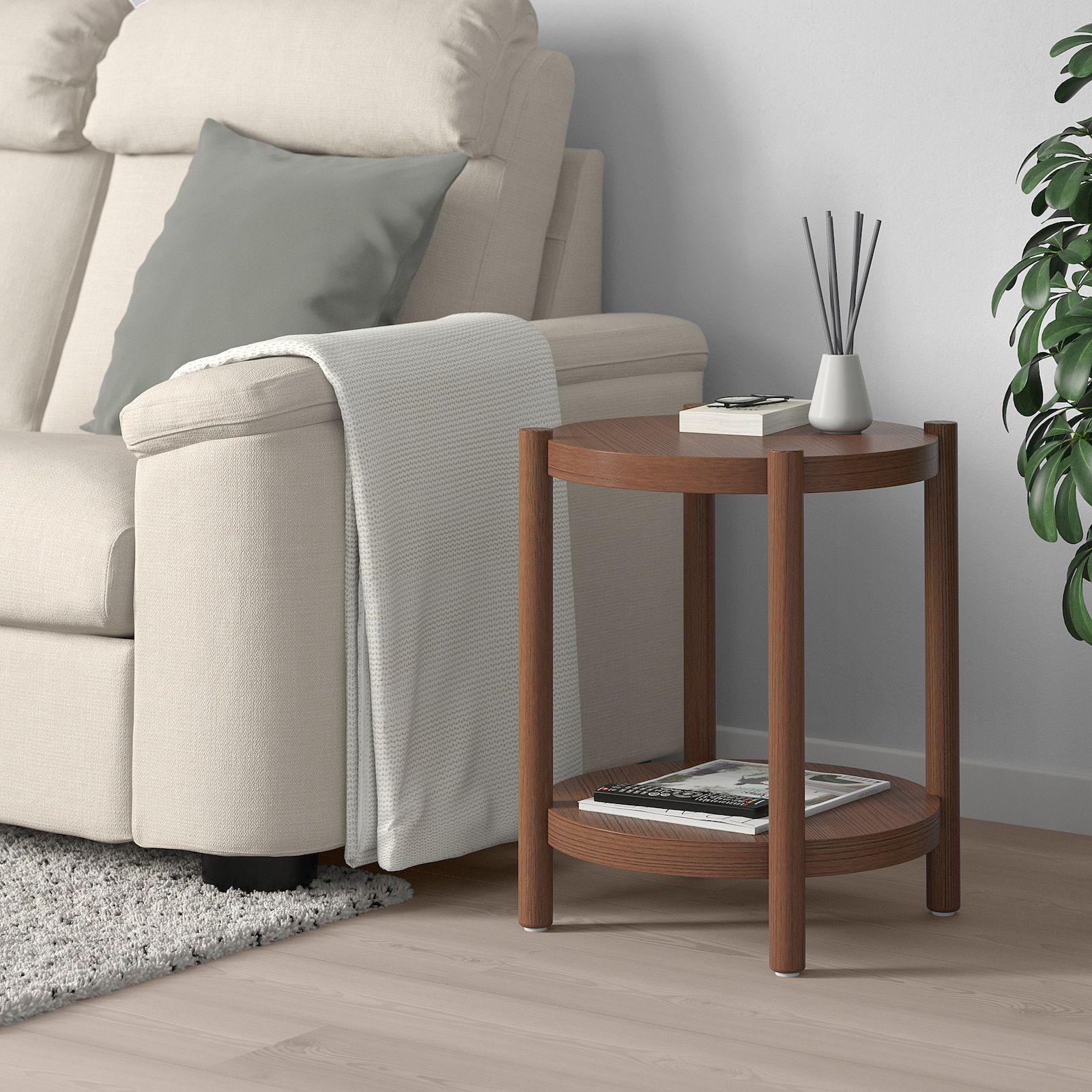 Listerby Side Table Brown 19 5 8 Ikea In 2021 Oak Side Table White Side Tables Ikea Side Table [ 1600 x 1600 Pixel ]