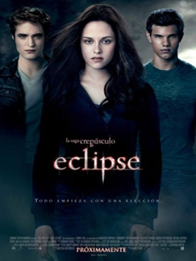 La Saga Crepusculo Eclipse Crepusculo Filme