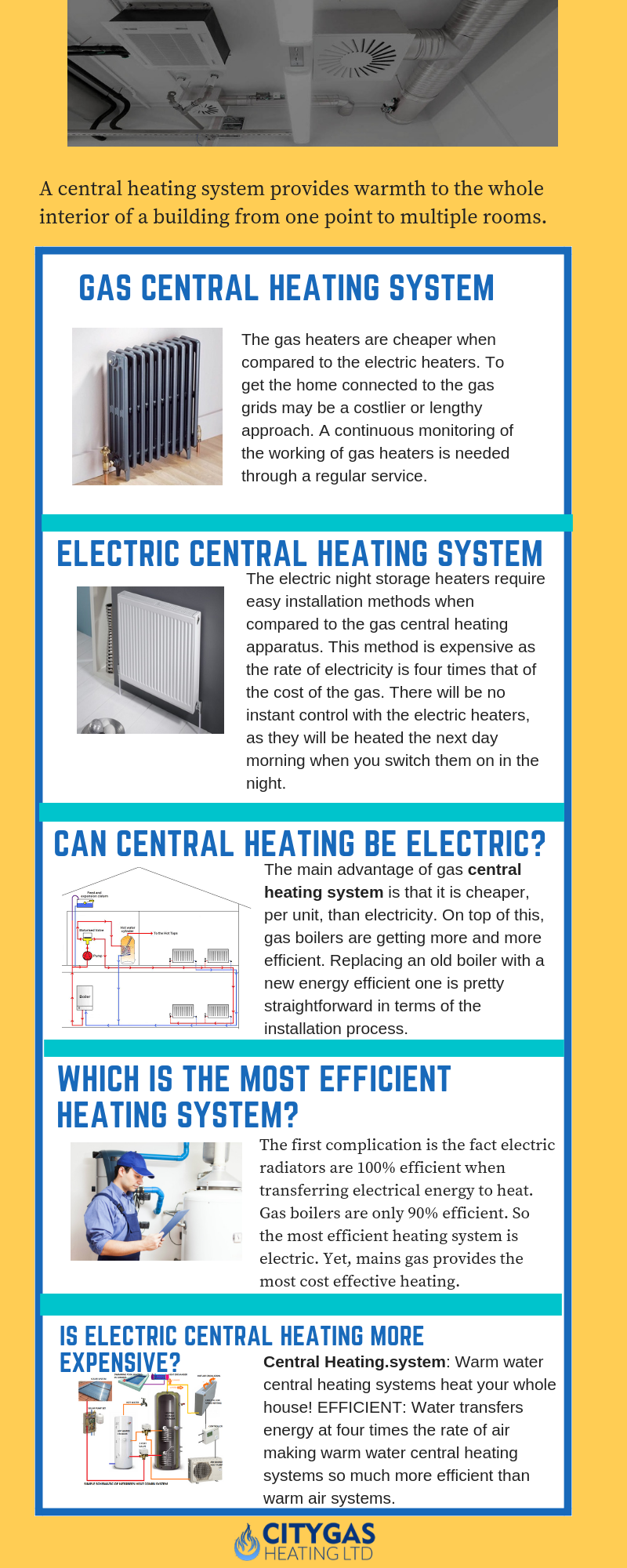 Get More Information About Central Heating Systems Central