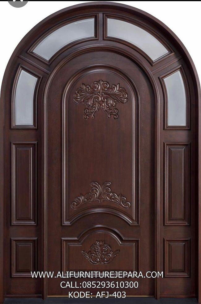 Jual Pintu Rumah Model Oval Modern AFJ-403 Nama : Jual ...