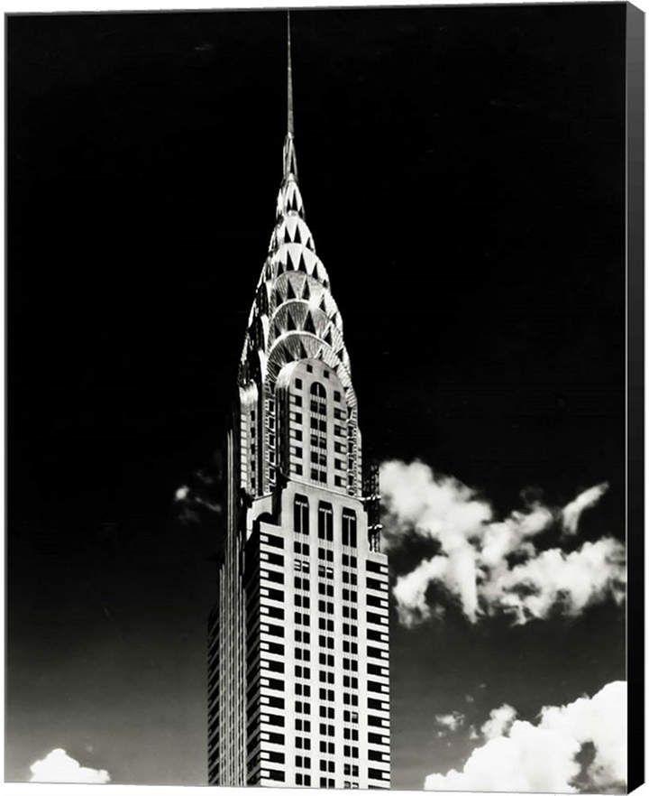 Chrysler Building By H A Dunne Canvas Art Chrysler Building