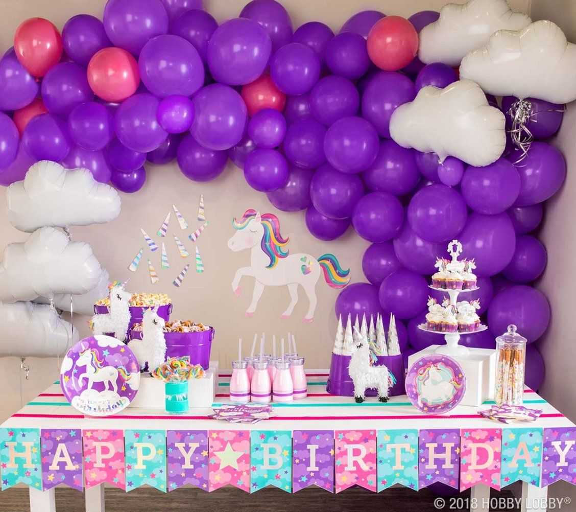 Add fantastical flair to your next party with unicorn-themed