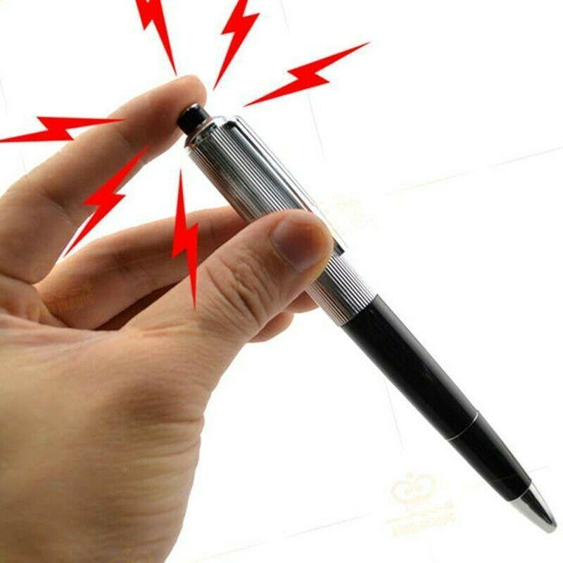 New Shocking Electric Shock Pen Prank Trick Joke Gag Funny Toy Novelty Gift Play