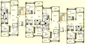 Apartment Building Floor Plans Astounding Interior Home Design Backyard A