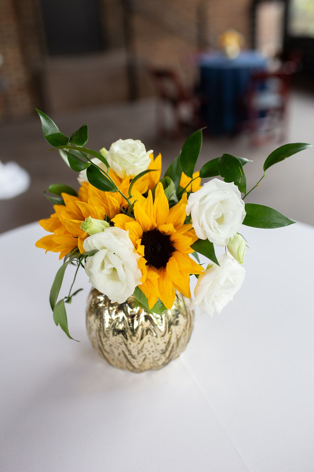 Samantha + Reece's Cheery Spring Wedding Sunflower