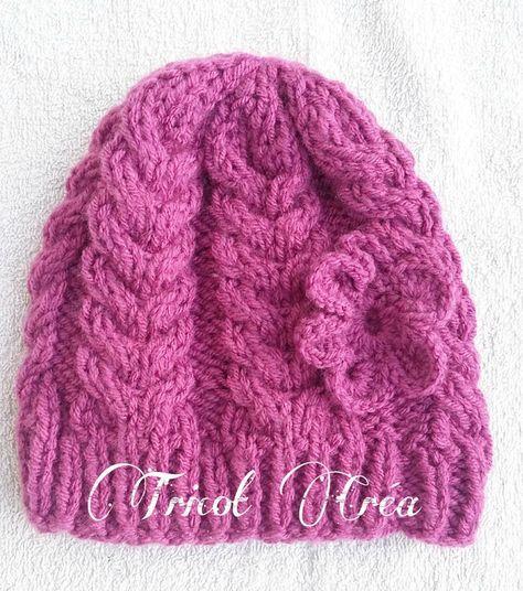 Modèle n°66   Ensemble bonnet, snood et moufles à torsades pour enfant -  Tuto bddddf56146