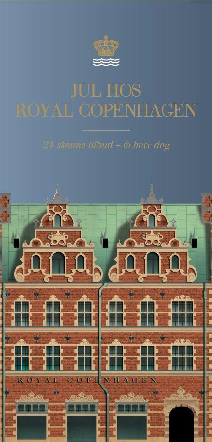 Royal Copenhagen by Martin Schwartz, via Behance
