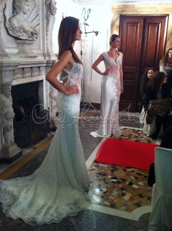 9f10f80cdae6 Sfilata collezione sposa 2014 Anna Guerrini Abiti Da Sposa