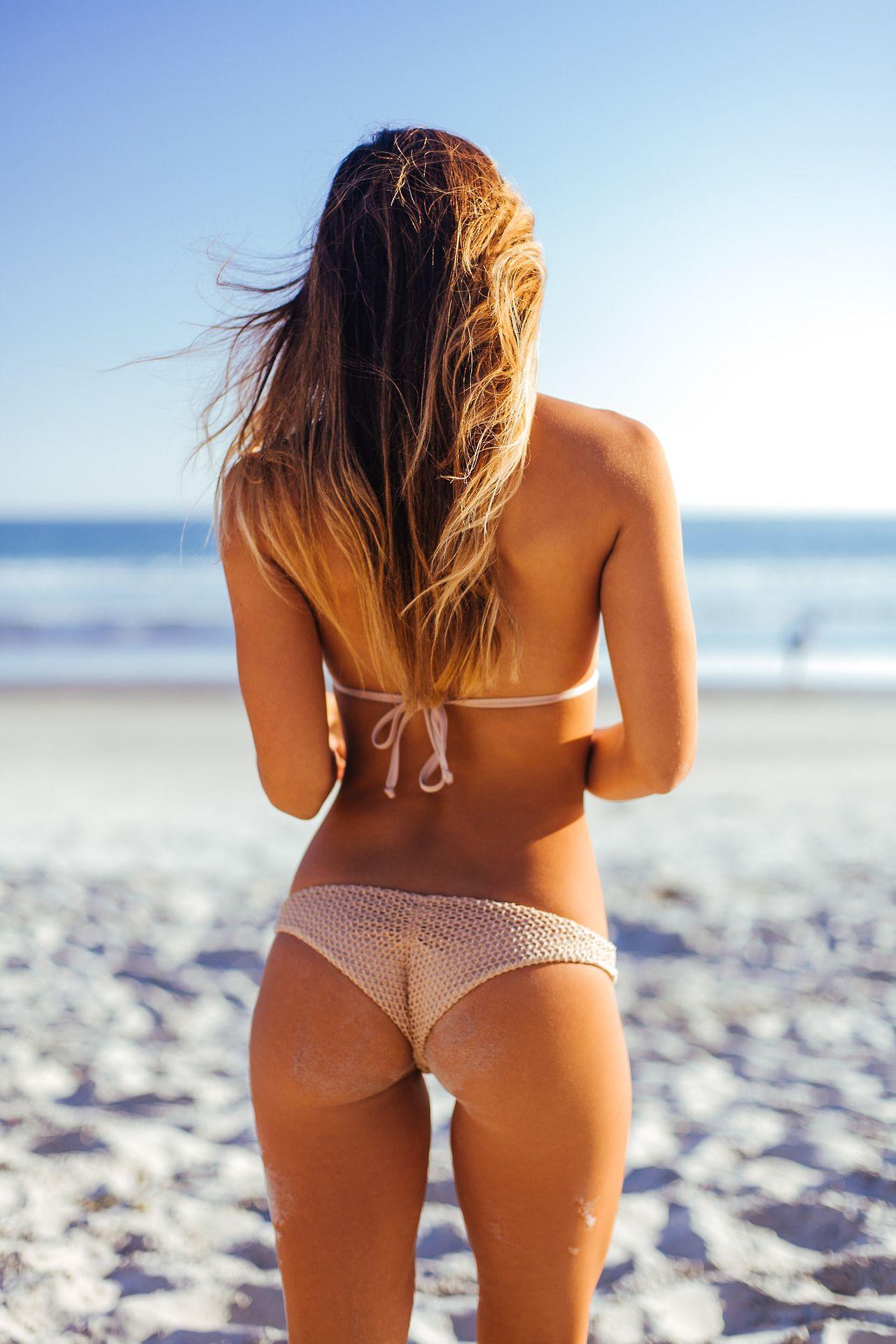 Just bikini woman