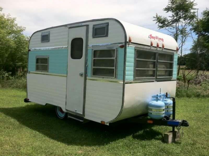 Go Tag Along Vintage Camper Vintage Trailers Vintage Campers